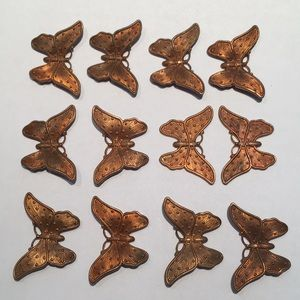 Accessories - Lot VINTAGE LIL Butterflies